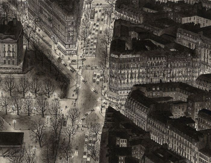 Artist Uses His Incredible Memory To Draw Detailed Cityscapes (14 pics)