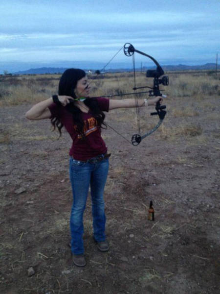 These Gorgeous Ladies Are Ready For Some Bow And Arrow Action (40 pics)