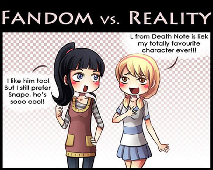 The Truth About Fandom Vs Reality (6 pics)