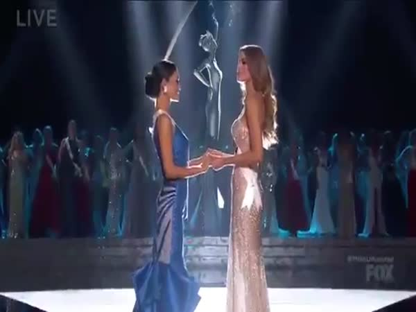 Miss Universe 2015 Mistake