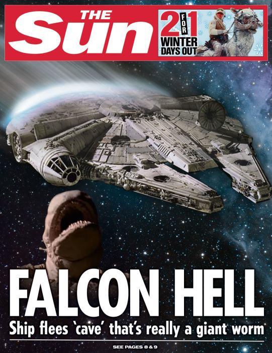 The Sun Is Publishing Fake Star Wars News Headlines (25 pics)