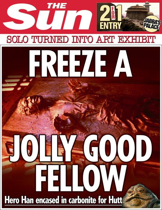 The Sun Is Publishing Fake Star Wars News Headlines (25 pics)