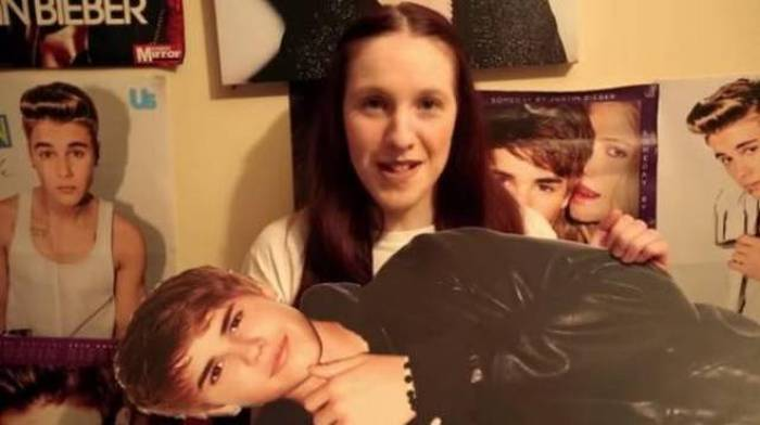 Meet The Fan That's Taking Her Justin Bieber Obsession Way Too Far (11 pics)