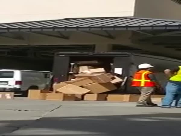 This UPS Employee Clearly Doesnt Like His Job Anymore