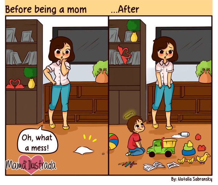 Funny Comics That Totally Tackle The Problems That Come With Being A Mom (39 pics)