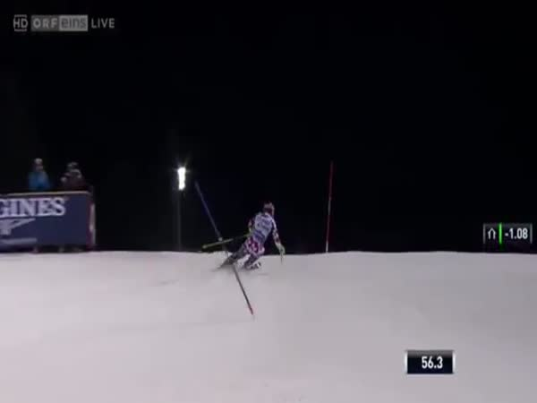 Marcel Hirscher Crash Drone