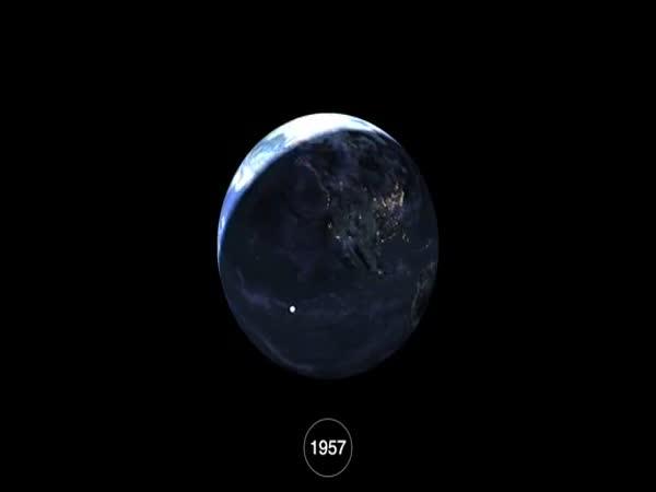 Space Debris: 1957 - 2015