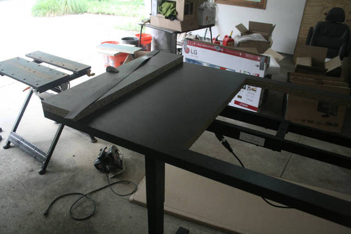 This Self Built Computer Desk Kicks a Ton of Ass (33 pics)