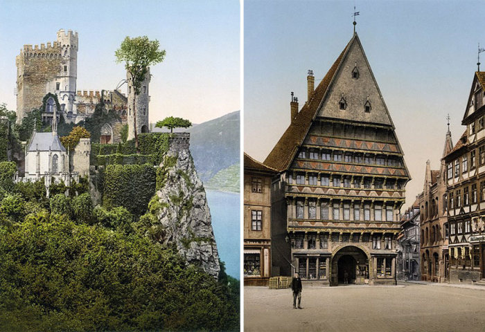 Rare Color Photos From 1900 Show Germany Before It Was Destroyed By Wars (9 pics)