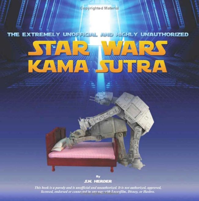 The Star Wars Kamasutra Will Change The Way You See Star Wars (7 pics)