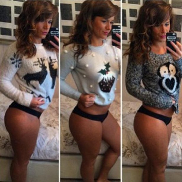 Hot Girls That Know How To Make Ugly Christmas Sweaters Look Sexy