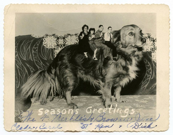 Bizarre Vintage Christmas Cards That Will Leave You Baffled (12 pics)