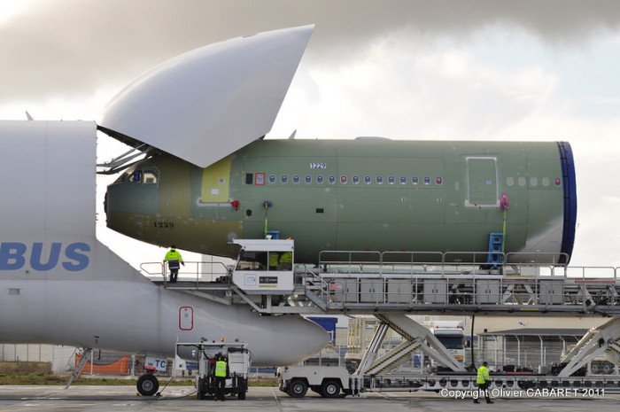 The Airbus Beluga Is What Other Planes Use To Hitch A Ride (11 pics)