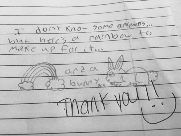 Kids Are Great At Writing Unintentionally Funny Notes (31 pics)