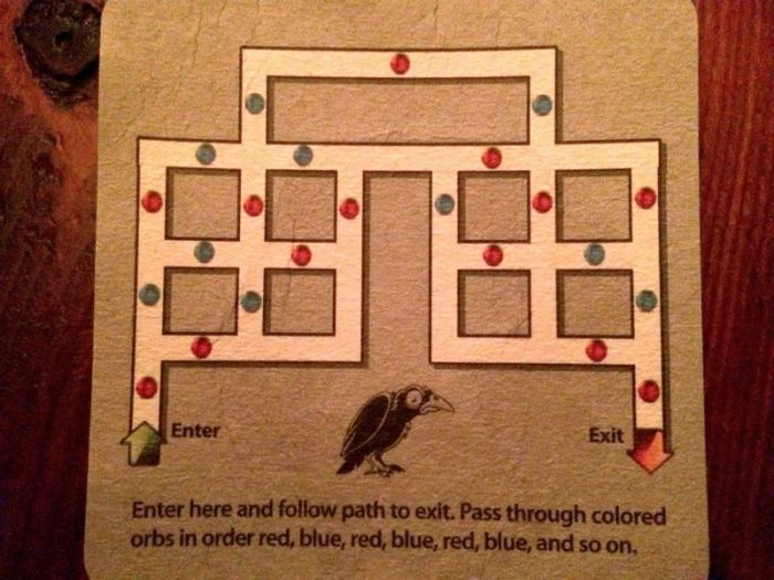 This Puzzle Was Designed To Trick Drunk People, Can You Solve It? (2 pics)