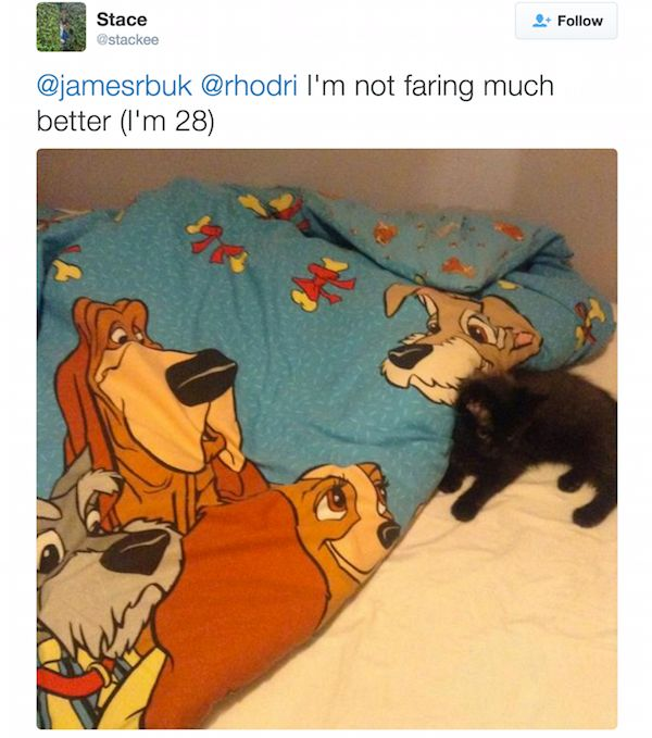 People Share Where They Slept When They Went Home For Christmas (20 pics)
