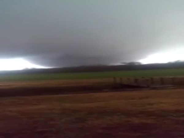 Tornado Near Holly Springs Mississippi