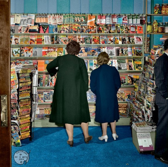 Vintage Photos Get A Full Color Makeover (41 pics)