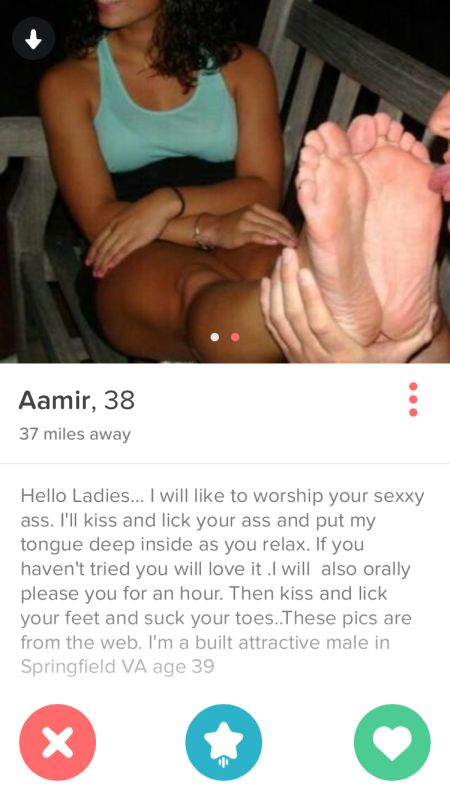 You Won't Be Able To Resist These Ridiculous Tinder Profiles (35 pics)