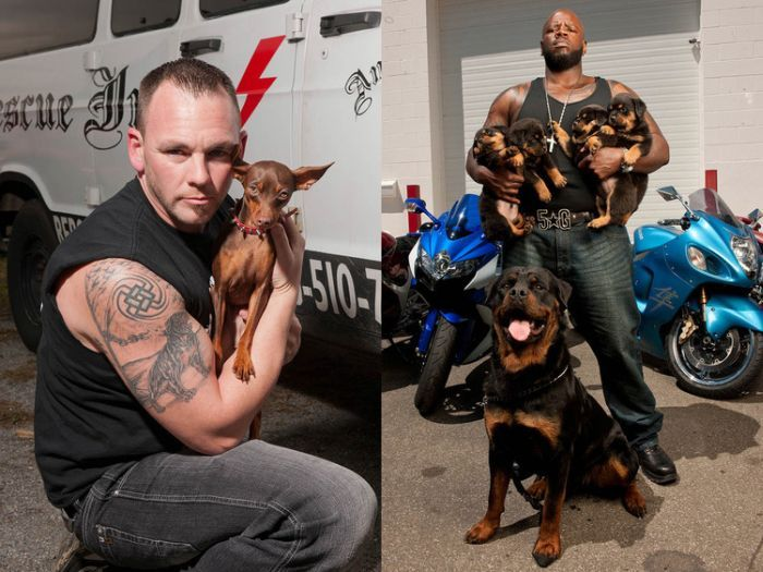Rescue Ink Is A Biker Gang With A Heart Of Gold (10 pics)