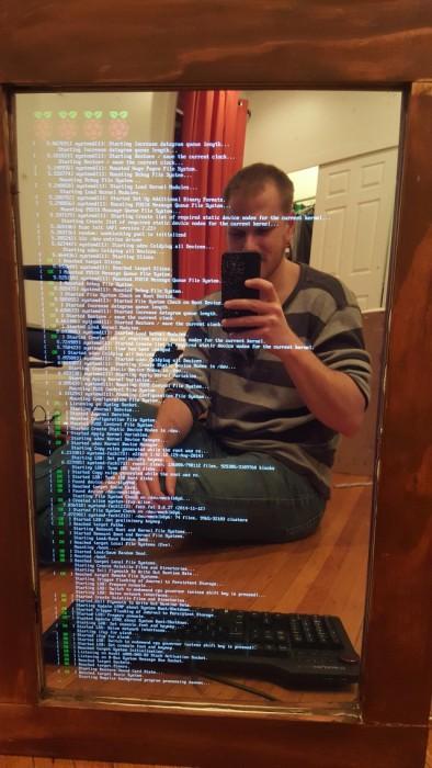 How To Build A Smart Mirror Using Raspberry Pi (18 pics)