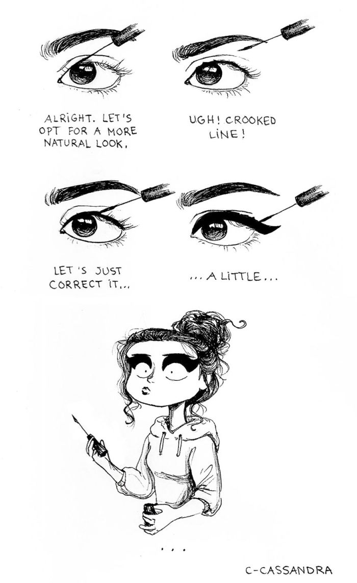 Romanian Artist Illustrates The Everyday Problems That Women Experience (20 pics)