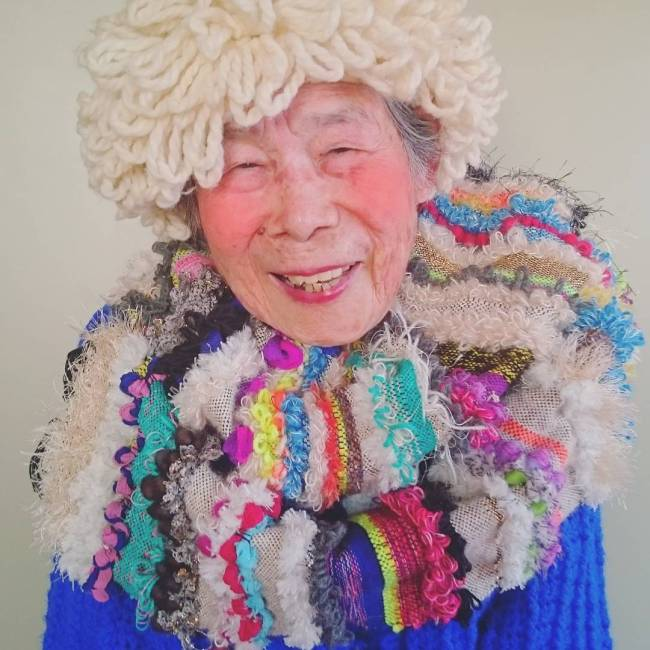 93 Year Old Grandmother Dresses Up In Her Granddaughter's Clothes (11 pics)