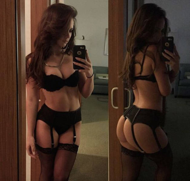 It's Not Easy To Take Your Eyes Off Of These Tempting Ladies In Lingerie (44 pics)