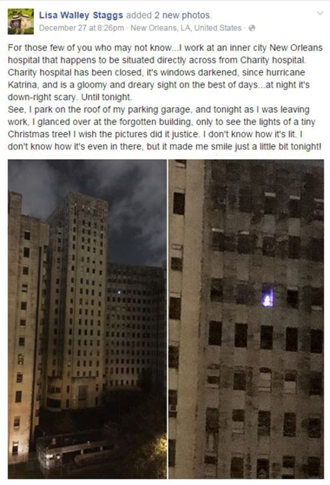 This Lone Christmas Tree Is Creeping Out Residents In New Orleans
