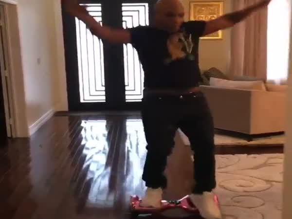 Mike Tyson Vs Hovertrax