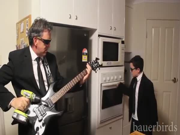 When Pulp Fiction Isn't Home Oven Kid