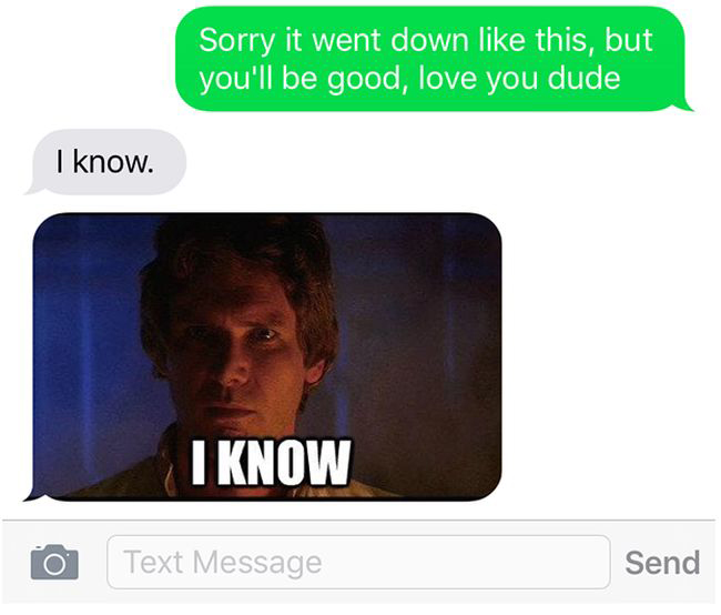 Star Wars Got Spoiled For This Guy Thanks To His Cheating Girlfriend (4 pics)