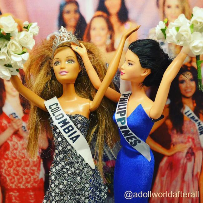 The Most Important Pop Culture Moments From 2015 Reenacted By Barbie Dolls (12 pics)
