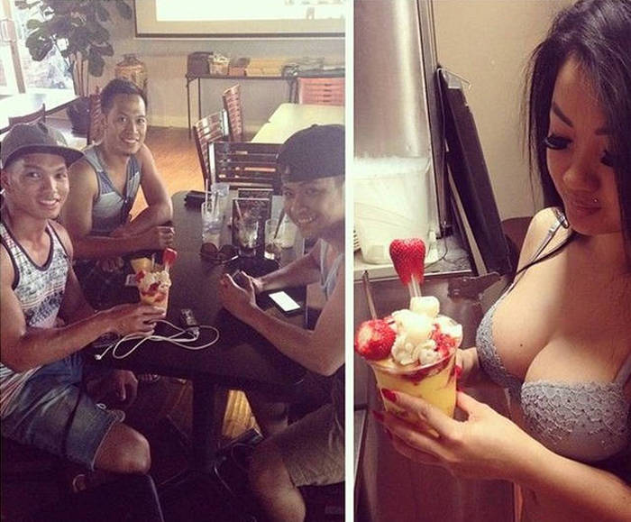 You Can Get Served By Sexy Women In Lingerie At This California Cafe (18 pics)