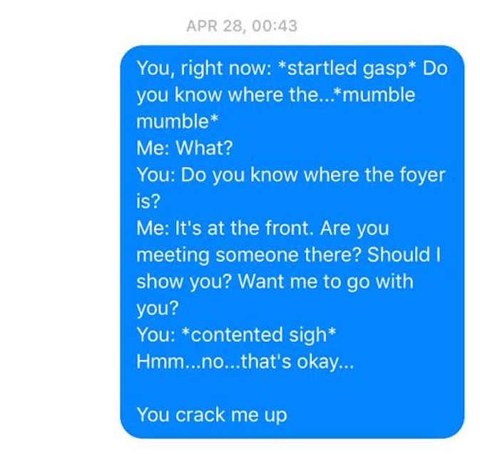 Wife Texts Husband All The Bizarre Things He Says in His Sleep (8 pics)