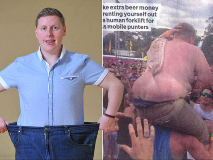 This Fat Guy Was Turned Into A Meme So He Used It As Motivation To Lose Weight (7 pics)