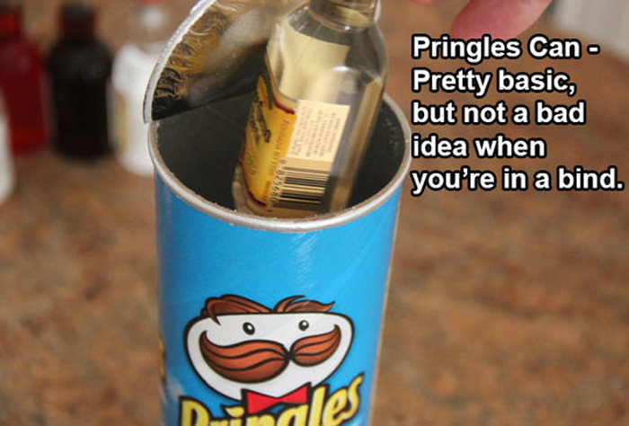 The Best Ways To Sneak Booze Into Any Event (15 pics)