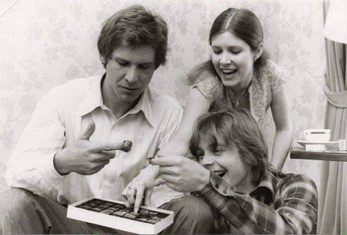 Vintage Photos From The Set Of The Original Star Wars Trilogy (35 pics)