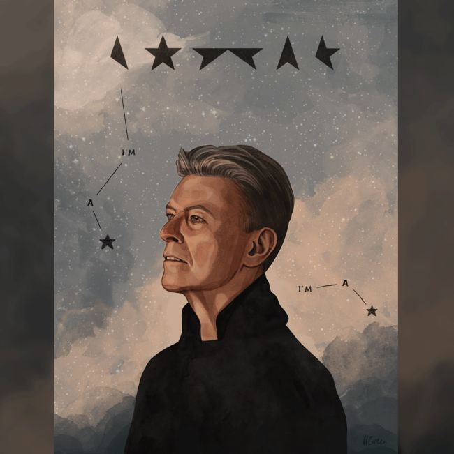 Artists From All Over The World Pay Tribute To The Late, Great David Bowie (30 pics)