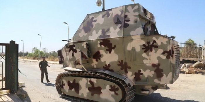 Military Vehicles From The Middle East (34 pics)