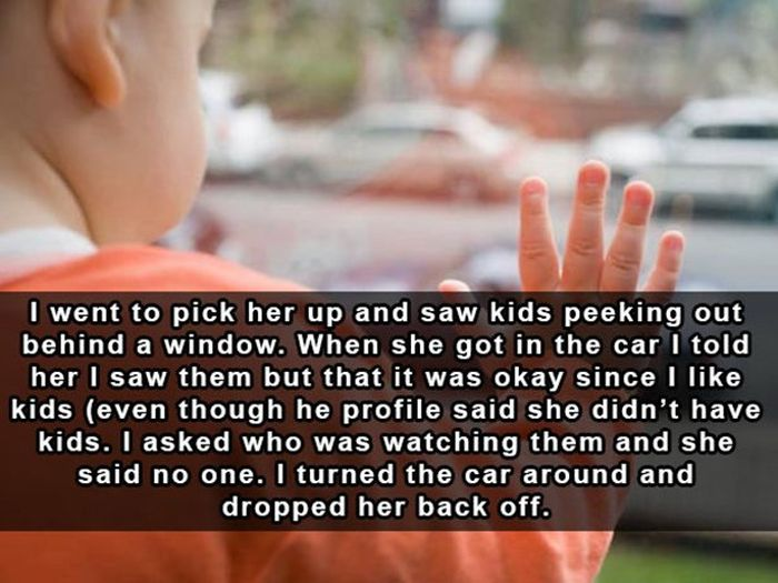 Terrifying But True Stories From The Online Dating World (17 pics)