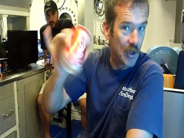 Opening A Soda On The Ocean Floor