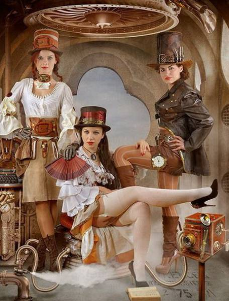 Sexy Girls Who Know How To Do Steampunk The Right Way (44 pics)