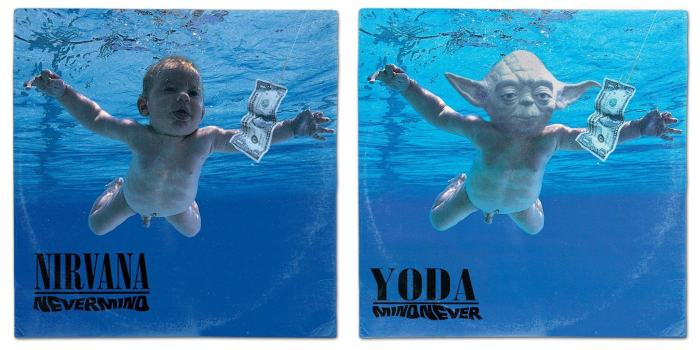 These Star Wars Album Cover Mashups Are Just Perfect (18 pics)