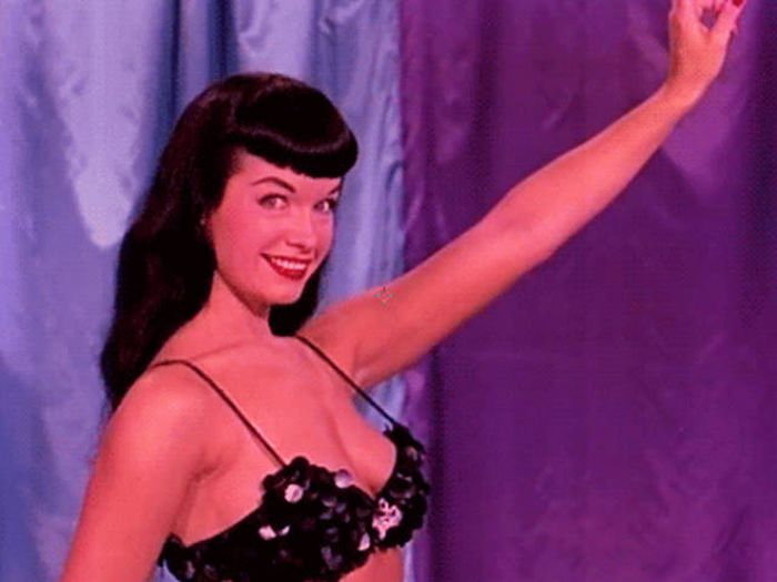 These Gorgeous Gifs Will Remind You Why Bettie Paige Was So Lovable (15 gifs)