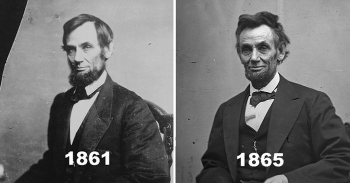 What US Presidents Looked Like Before And After Their Terms (8 pics)