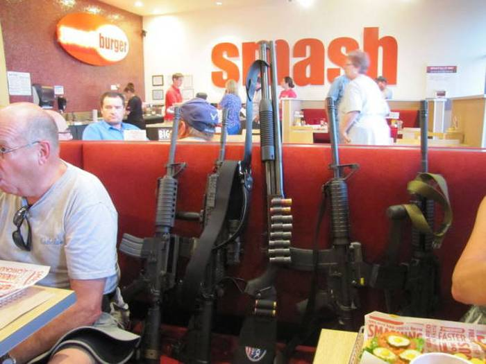 People In Texas Don't Leave The House Without A Gun (9 pics)