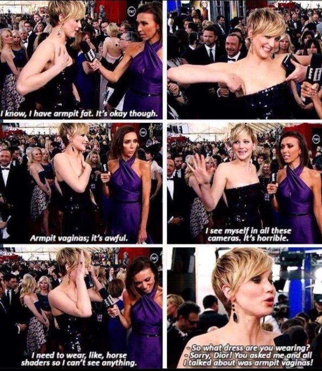 Let's Take A Second To Appreciate How Awesome Jennifer Lawrence Is (15 pics)