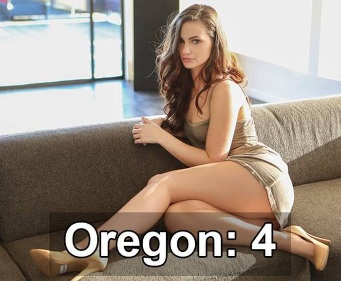 How Many Famous Porn Stars Are From Each State In The USA? (34 pics)