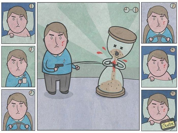 You're Going To Have To Do A Double Take With These Sarcastic Illustrations (40 pics)